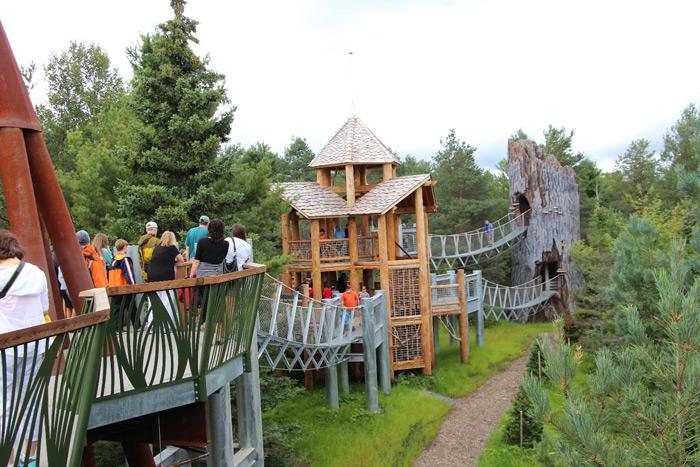מוזיאון טבע פתוח The Wild Center ב-Tupper lake