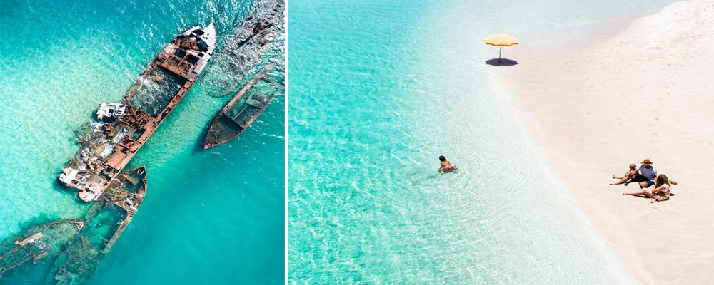 החופים הנפלאים הם אטרקציה מרכזית בטיול באוסטרליה