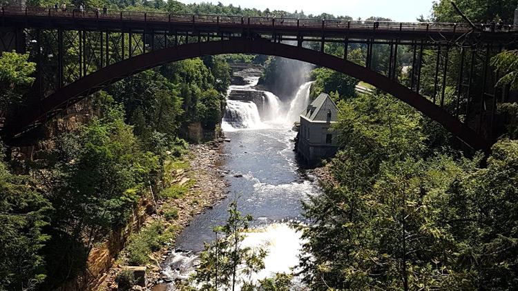 גשר Ausable Chasm