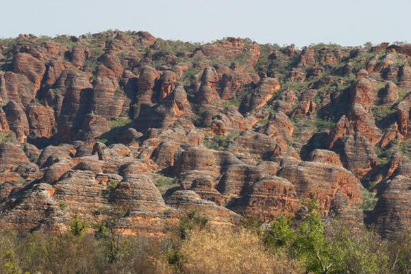 טיול בקמפר 4X4 בשמורת Bungle Bungle באוסטרליה