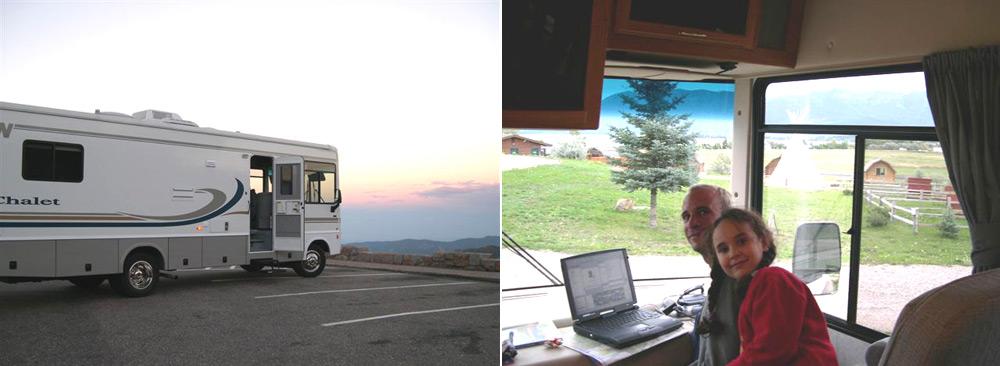 טיול משפחתי 3 חודשים עם קרוואן אטובוס באמריקה