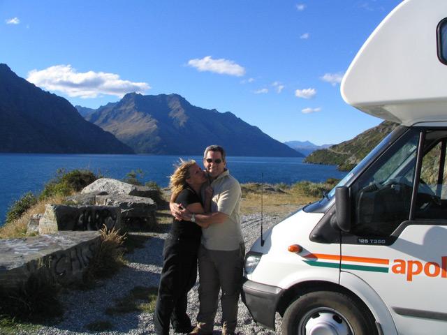 גולת הכותרת של הטיול בניו זילנד היתה החוויה בקרוואן