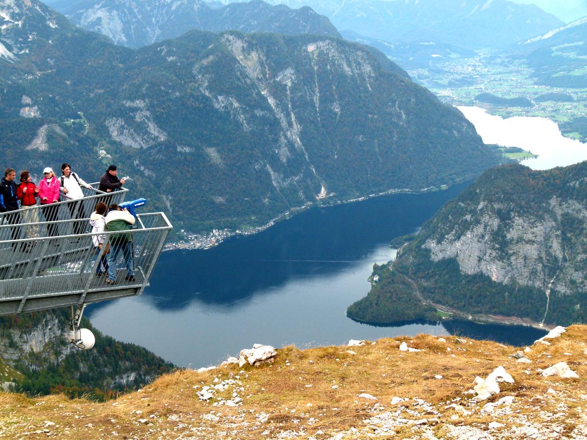 תצפית 5 האצבעות בהר דכשטיין אוסטריה