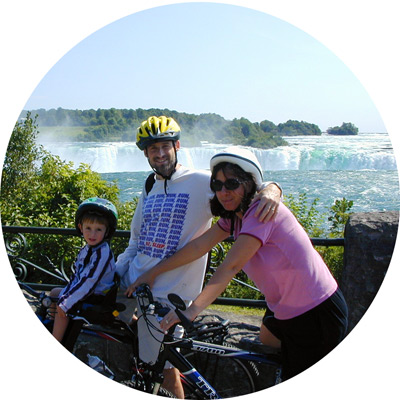 טיול משפחתי בקרוואן בקוויבק ואונטריו