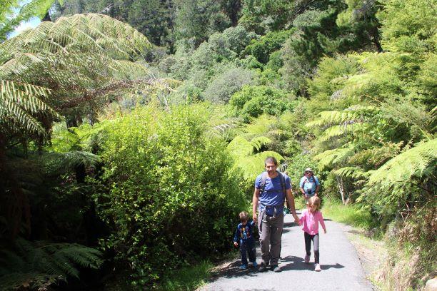 בניו זילנד יש שפע טרקים ומסלולי הליכה בכל הרמות ולכל הגילאים