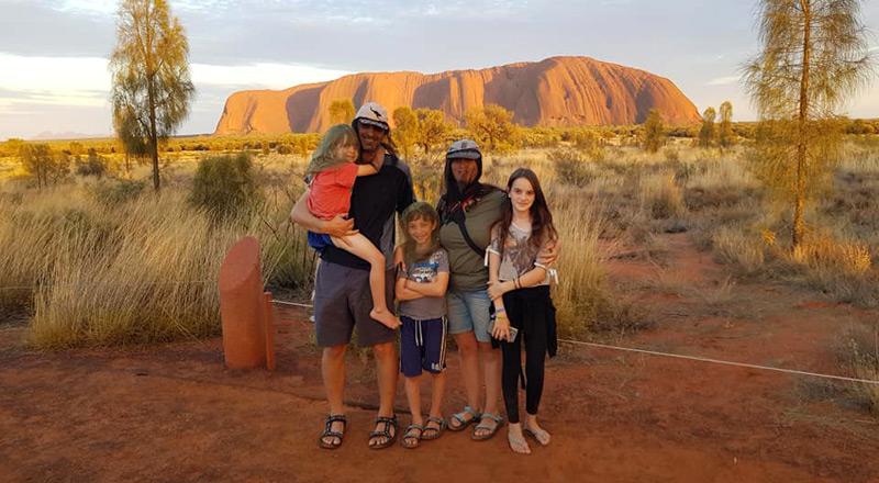 סיכום מסע משפחתי של 100 יום באוסטרליה עם קרוואן