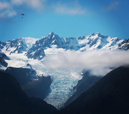 קרחון פוקס fox glacier ניו זילנד