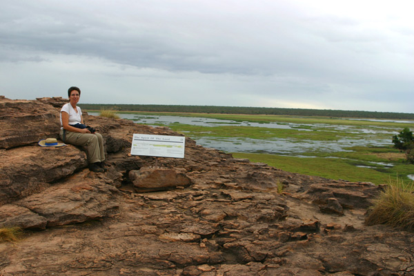 טיול עם קמפר שטח בשמורת קקאדו בצפון אוסטרליה