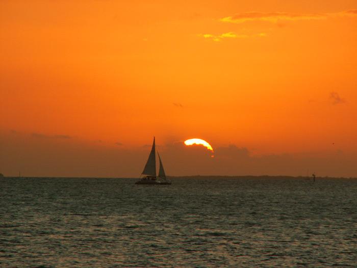 שקיעה במיאמי