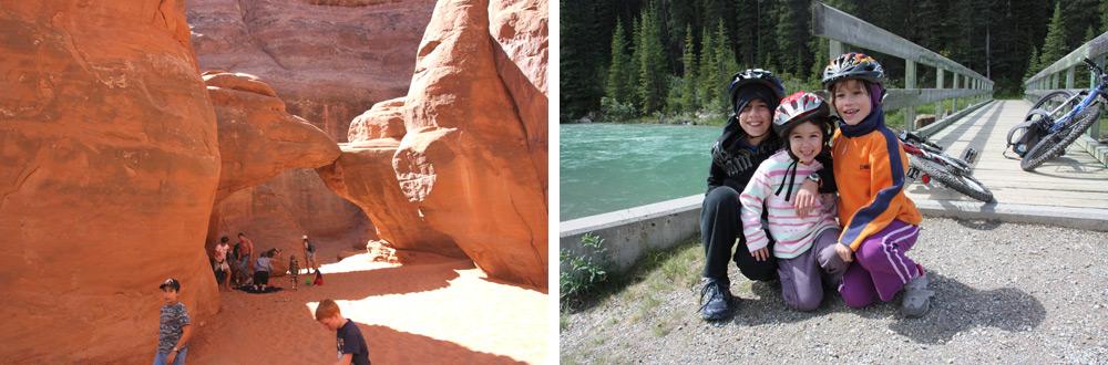 """טיול בקרוואן הוא דרך נפלאה לטייל בפארקים של ארה""""ב ובפארקים של קנדה"""