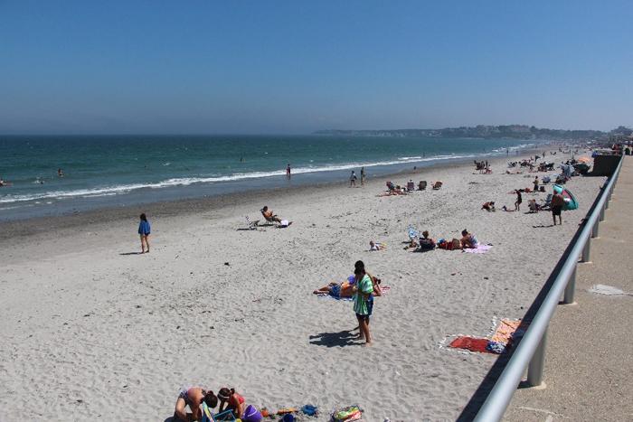 חוף Nantasket Beach בוסטון מסצ'וסטס