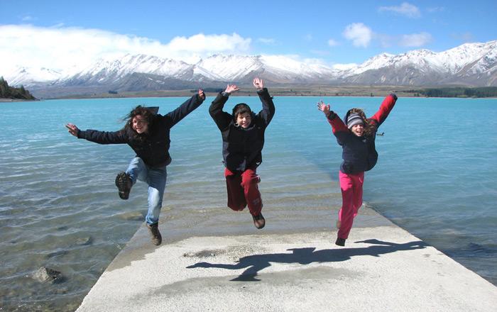 קרוואן הוא אופציה נוחה ומיוחדת לטיול עם ילדים בניו זילנד