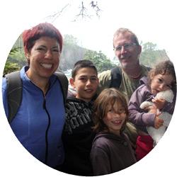 משפחת ישורון בטיול קרוואנים בצפון אמריקה